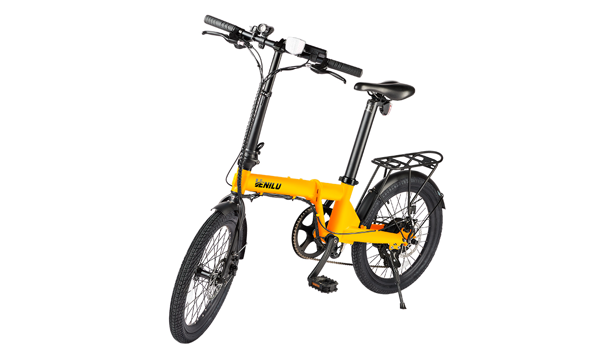 Venilu Vida Orange – Folding E-Bike 20″ 16kg