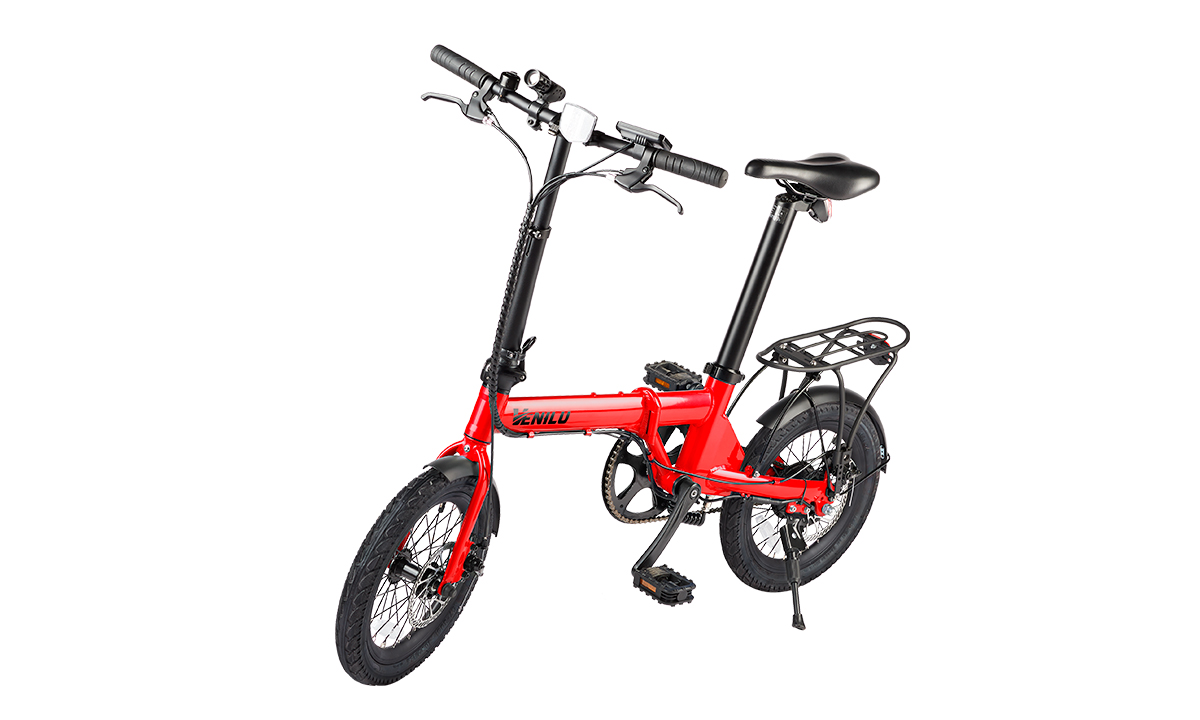Venilu Urbana Red – The Lightest Folding E-Bike 16″ 13,6kg