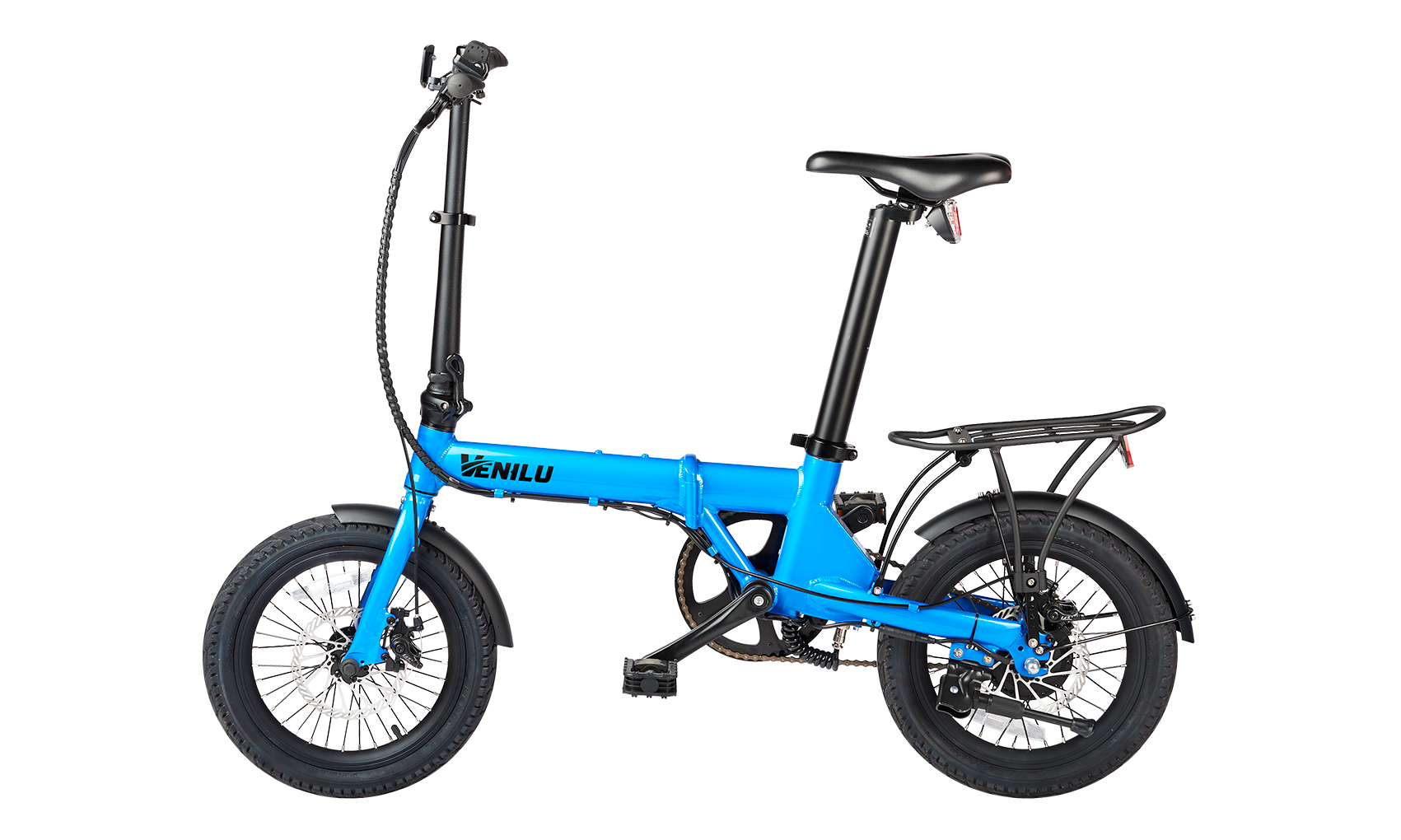 Venilu Urbana Blue – The Lightest Folding E-Bike 16″ 13,6kg