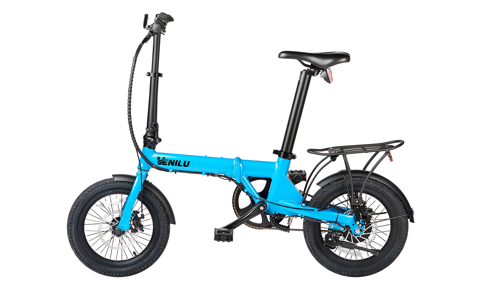 Venilu Urbana Sky Blue – The Lightest Folding E-Bike 16″ 13,6kg